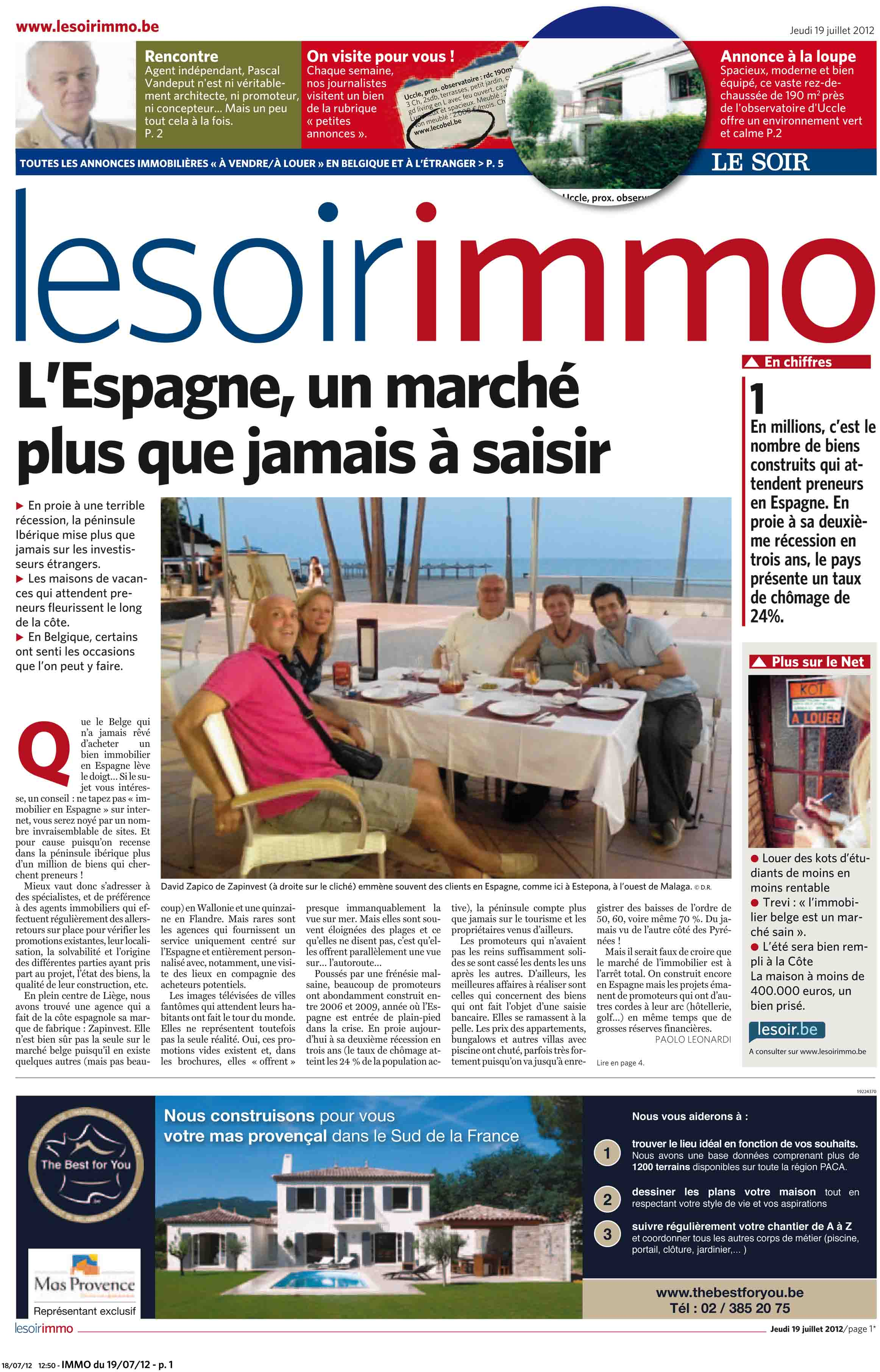 3 Article Soir Immo 1